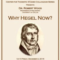 The CTS Colloquium Series: Dr. Robert Wood
