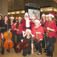 Holiday Music with String Theory, Featuring Vocalist Amanda Hart Bassett