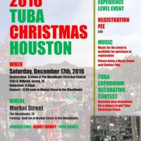 2016 Tuba Christmas Houston