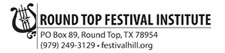 Round Top Music Festival 2014: Texas Festival Chamber Orchestra