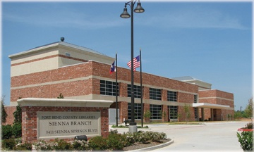 Fort Bend County Libraries - Sienna Branch