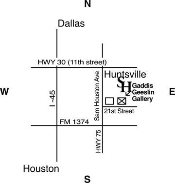 Sam Houston State University: Gaddis Geeslin Gallery